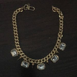 Juicy Couture Gold Silver Statement Necklace